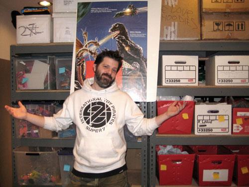 interview with Brian Flynn about collecting toys