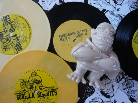 Gorilla Biscuits toys by Super7, collecting toys