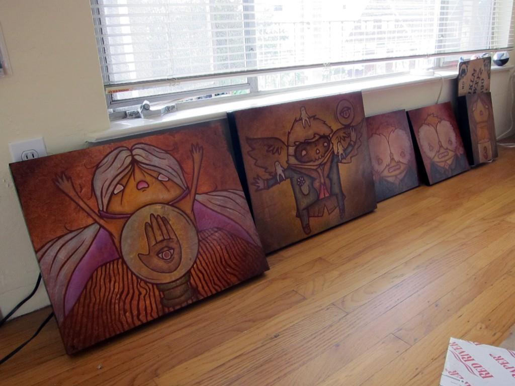 studio visit with Yosiell Lorenzo