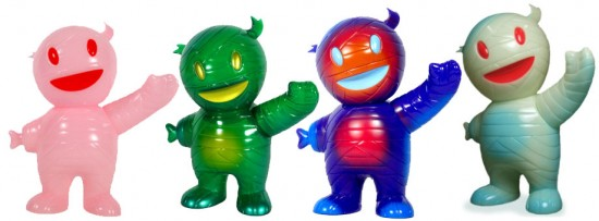 Brian Flynn x Super7 Mummyboy toy colorways
