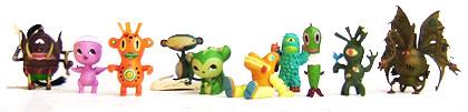 Super7 x STRANGEco Neo-Kaiju toy project, collecting toys