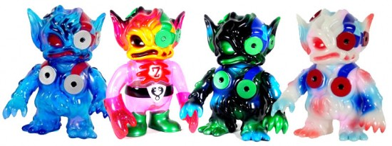 Super7 Oozebats collecting toys