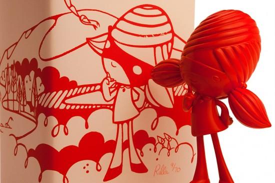 Red Sozi Resin by Rilla Alexander
