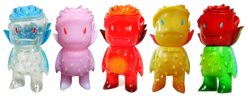 Josh Herbolsheimer x Super7 Rose Vampire toy colorways