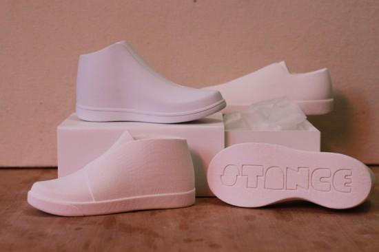Kickstarter vinyl toys: Stance DIY sneaker