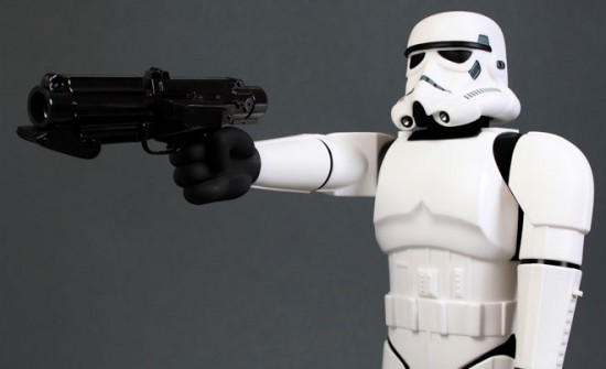Super Shogun Stormtrooper, collecting toys