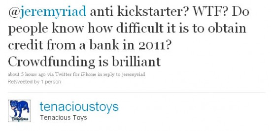 Artists Talk About Funding for Toys Using Kickstarter