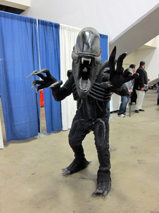 Alien at Wondercon 2011