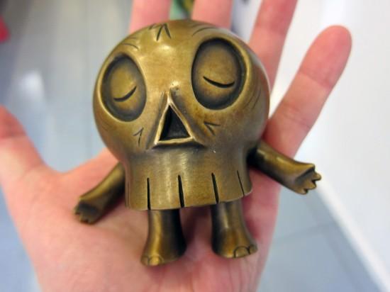 Bronze Skullwalker by Brian Flynn