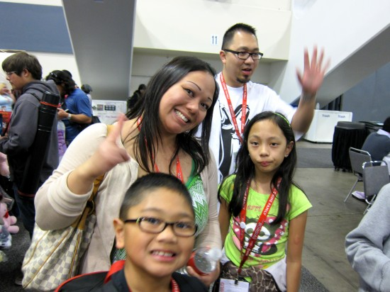Dragatomi family at Wondercon 2011 pictures and recap