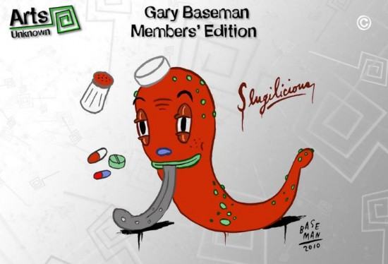 Gary Baseman Slugilicious