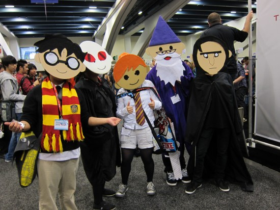 Harry Potter Crew at Wondercon 2011 pictures and recap