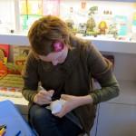Julie West signing at KR SF