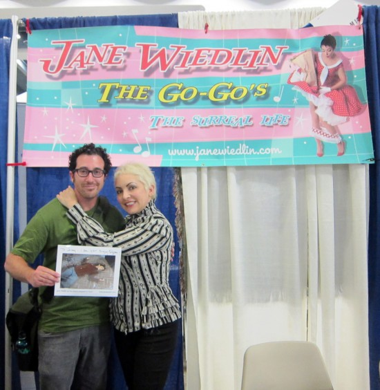 Jane Wiedlin (and me) at Wondercon 2011