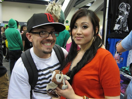 Jay222 and Sarah at Wondercon 2011