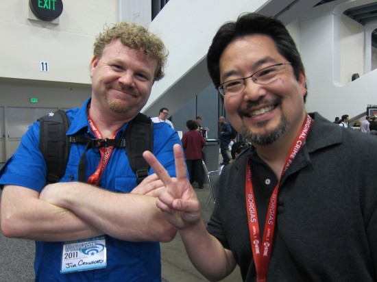 Jim Crawford and Mark Nagata at Wondercon 2011 pictures and recap