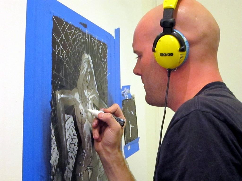 N8 Van Dyke Live Painting