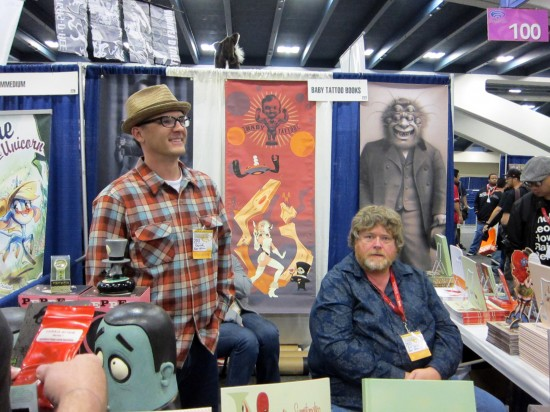 Ragnar and Baby Tattoo at Wondercon 2011