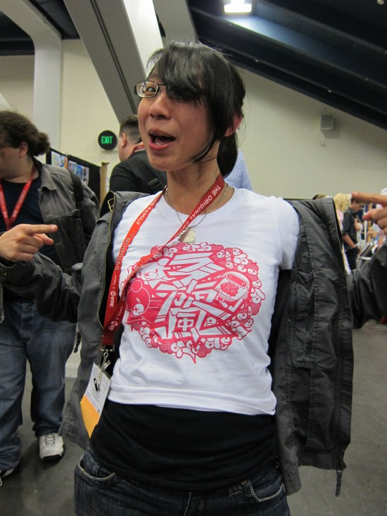 Shing Yin at Wondercon 2011