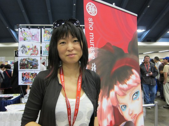 Sho Murase at Wondercon 2011