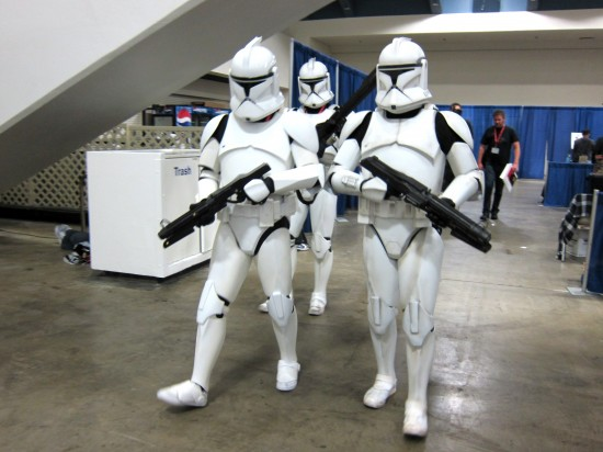 Stormtroopers at Wondercon 2011 pictures and recap