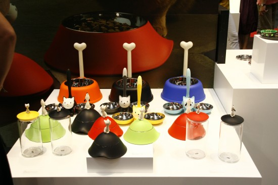 Alessi cat and dog bowls by Miriam Mirri