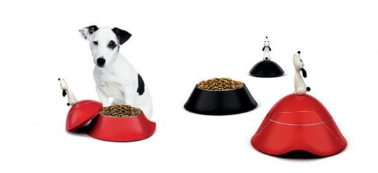 Alessi Lulà dog bowls