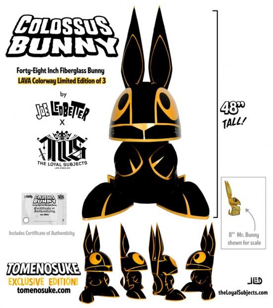 Joe Ledbetter Colossus Bunny: Lava