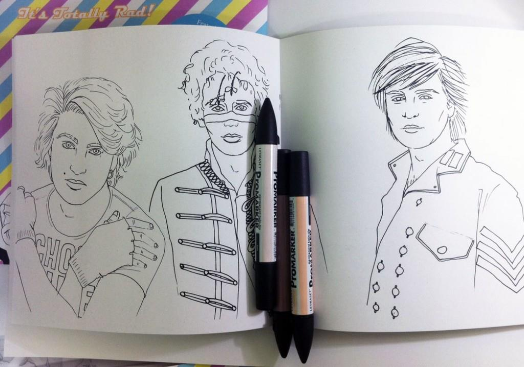 I Love The 80s UK Colouring Book