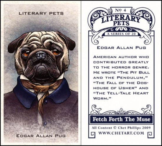 Literary Pets by Chet Phillips