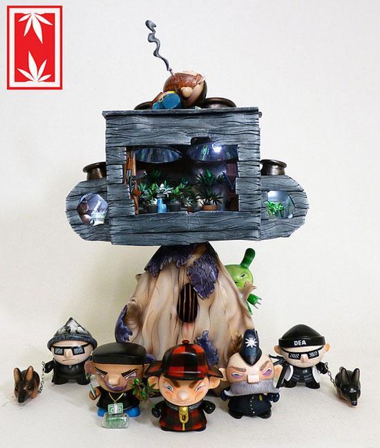 Nugglife custom grow-op by Ian Ziobrowski
