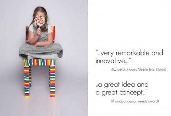 Customizable Sugar Chair by Pieter Brenner