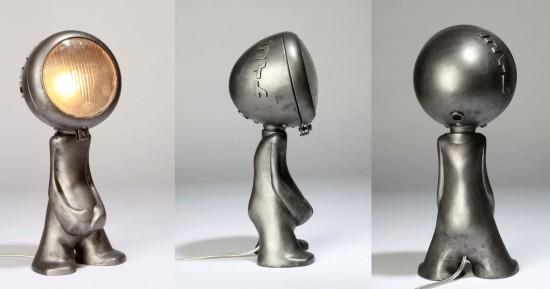 Silver Amaterasu Toy Lamp by Nanan1
