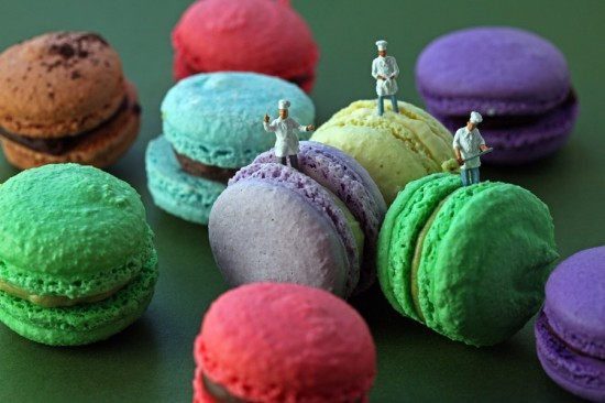 Macaroon Team by Christopher Boffoli