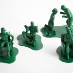 Toy Soldiers with PTSD by Dorothy