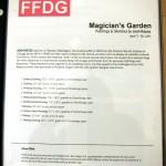 Josh Keyes Magician's Garden at FFDG