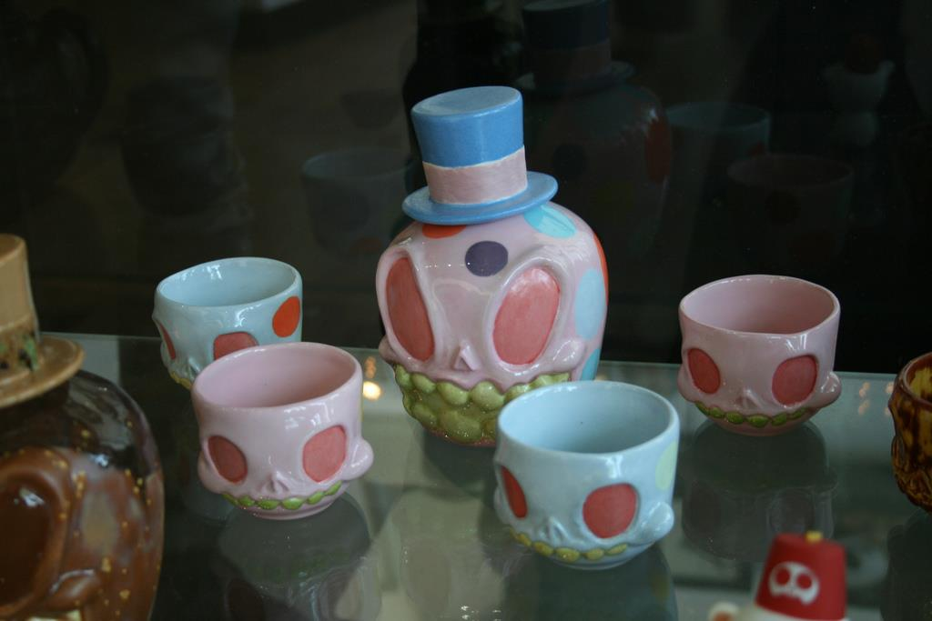 Ceramic Sake Sets by Circus Posterus