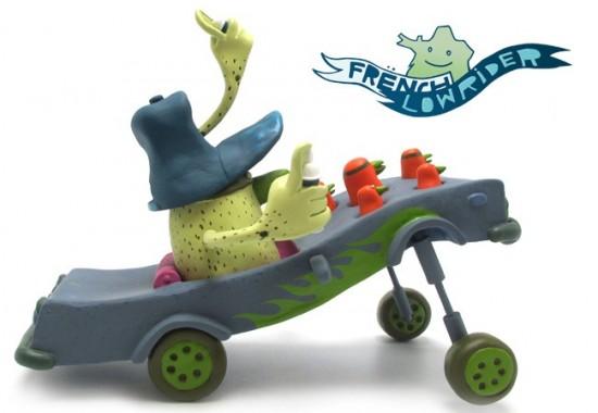 French Lowrider Toys by Alëxone x Artoyz