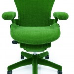 Astroturf Herman Miller Chair by Makoto Azuma