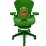 Herman Miller Astroturf Aeron Chair by Makoto Azuma