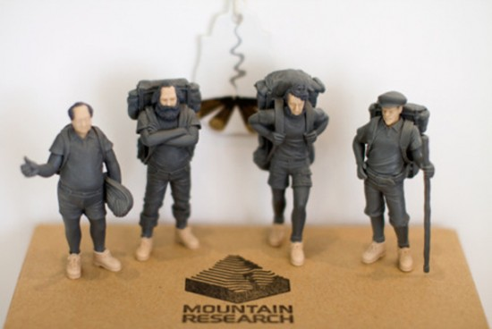 Mao, Marx, Lenin and Thoreau from Mountain Research Japan