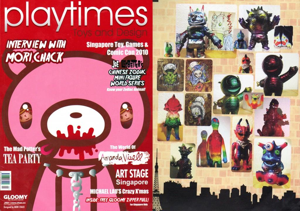 Monster Party in Playtimes Magazine