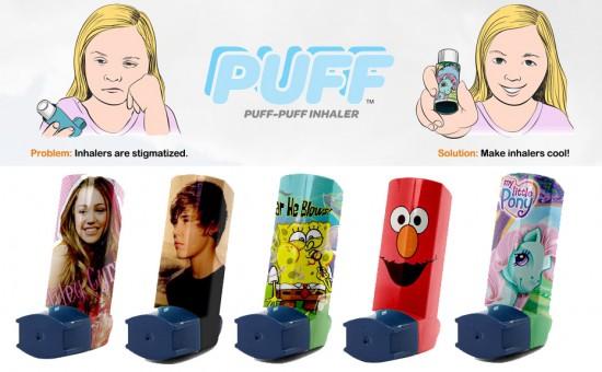 Pop Culture Asthma Inhalers