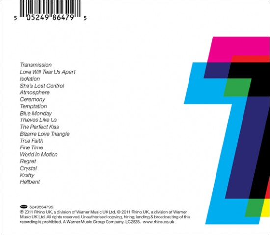 Pete Saville for Total Joy Division/New Order Compilation