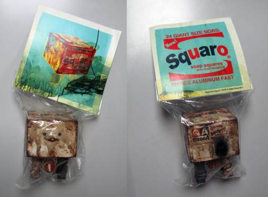 ThreeA Brillo Squaros for SDCC 2011