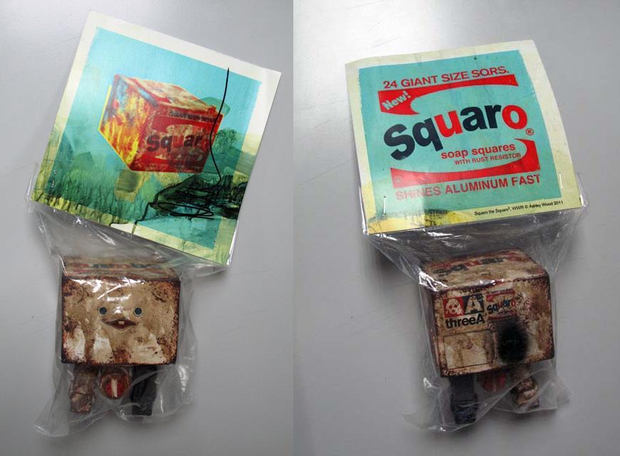 ThreeA Brillo Squaros for SDCC 2011