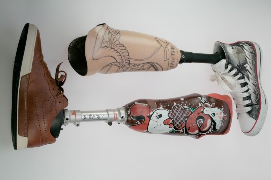 prosthetic art arms and legs by Custoprothetik