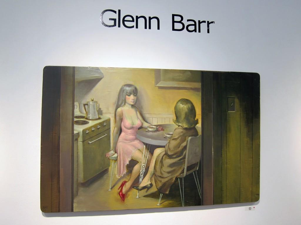 Glenn Barr's Faces