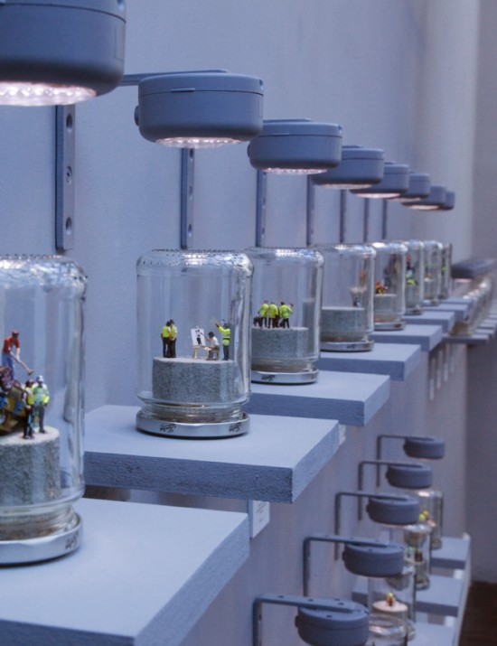 A Riot in a Jam Jar by James Cauty