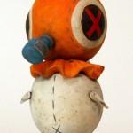 Orange Red Bird